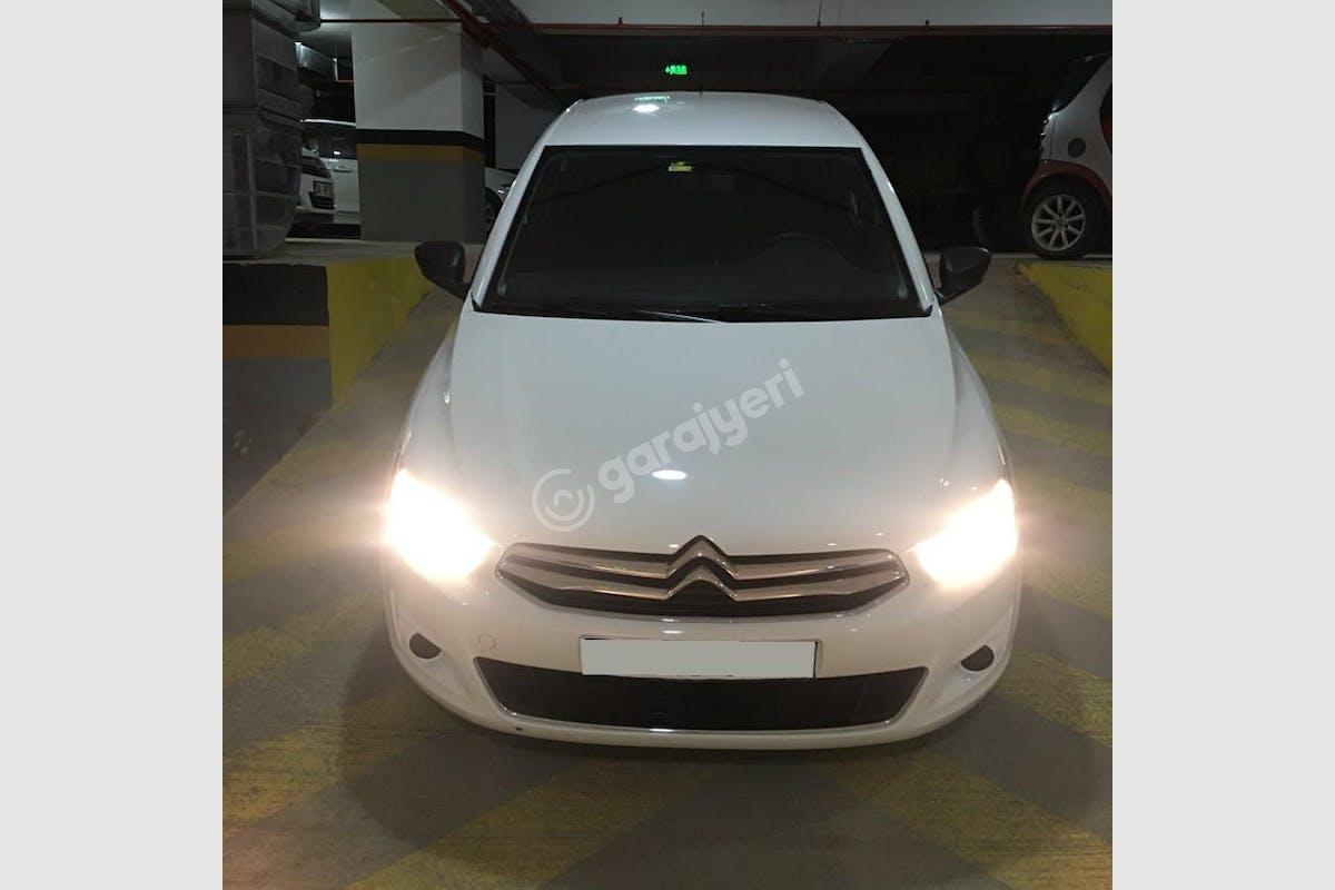 Citroën C-Elysee Ümraniye Kiralık Araç 1. Fotoğraf