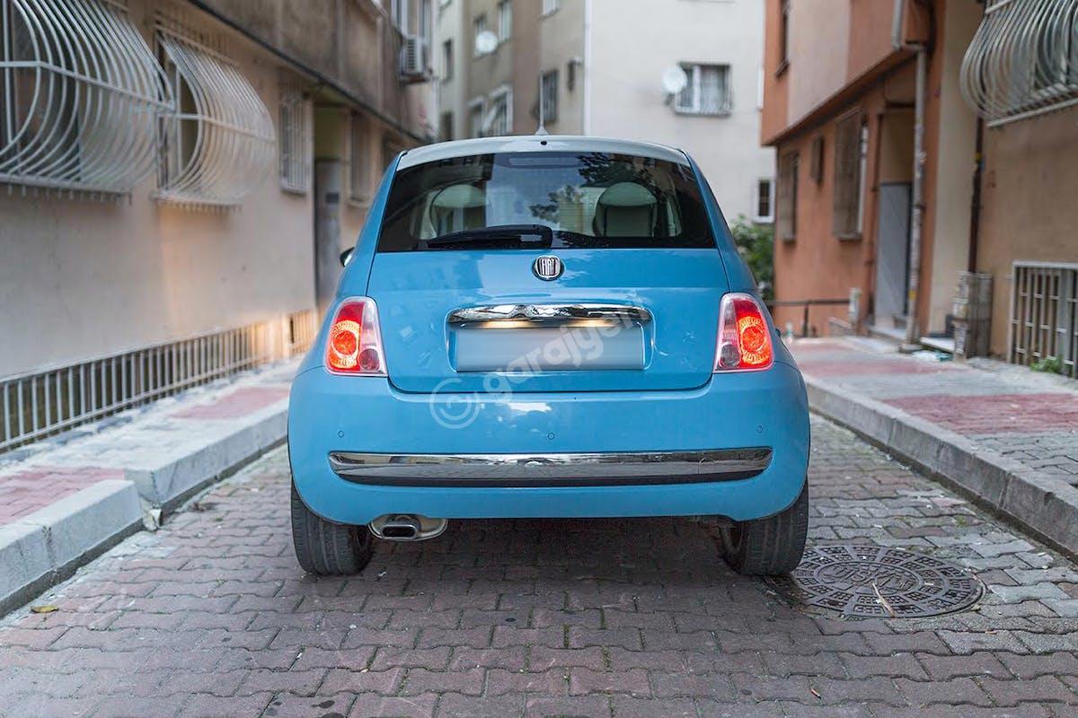 Fiat 500 Şişli Kiralık Araç 6. Fotoğraf