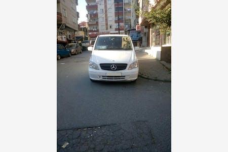 Kiralık Mercedes - Benz Vito 2013 , İstanbul Sultangazi