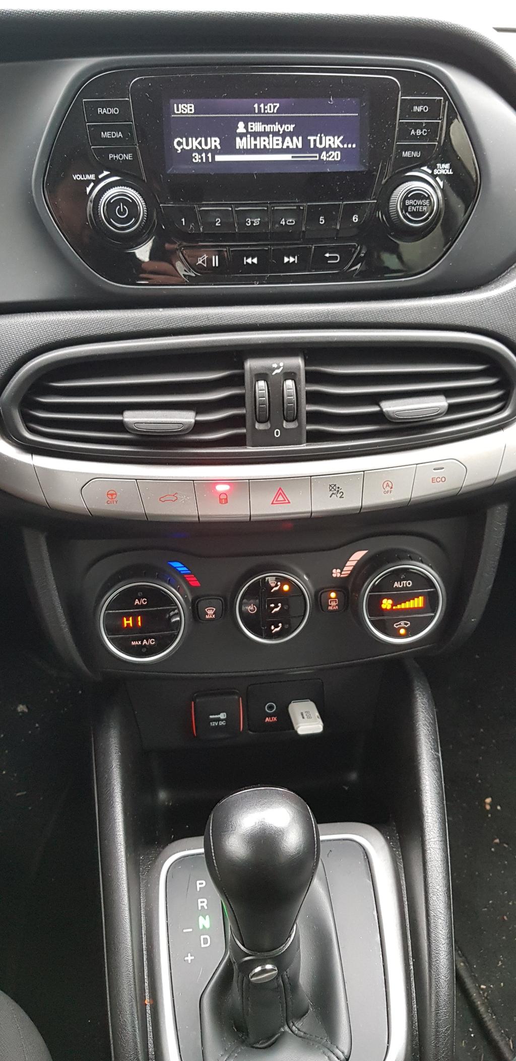 FIAT Egea 2016 Model Dizel Otomatik Vites Kiralik Araç - FC3E
