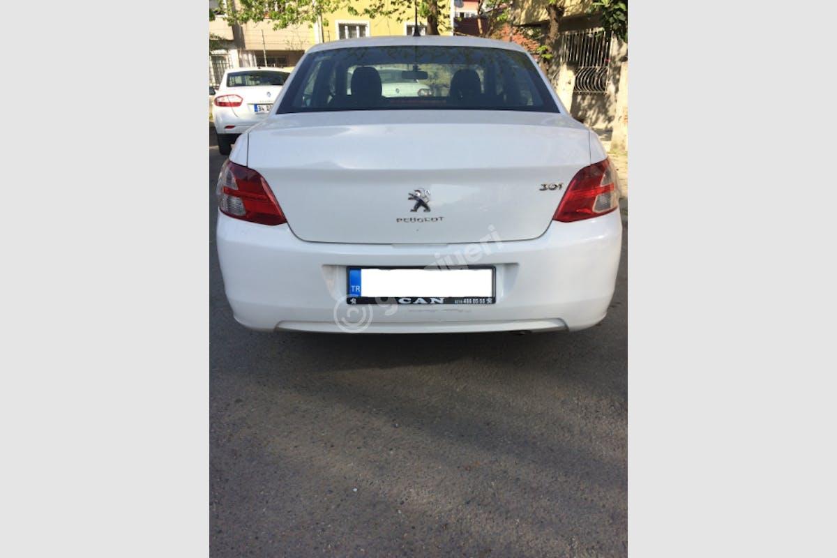 Peugeot 301 Beşiktaş Kiralık Araç 3. Fotoğraf