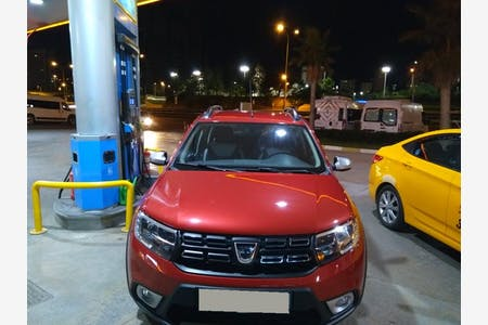 Kiralık Dacia Sandero Stepway , İstanbul Pendik