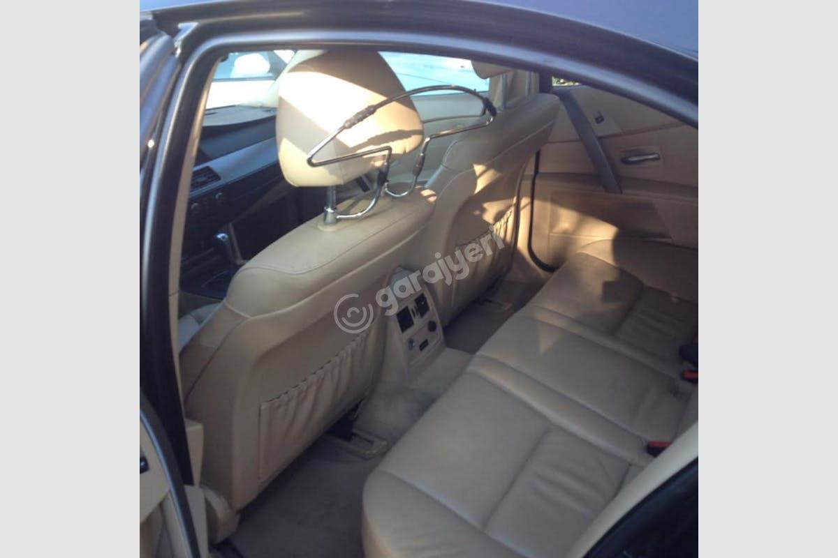 BMW 5 Sabiha Gökçen Havaalanı Kiralık Araç 4. Fotoğraf