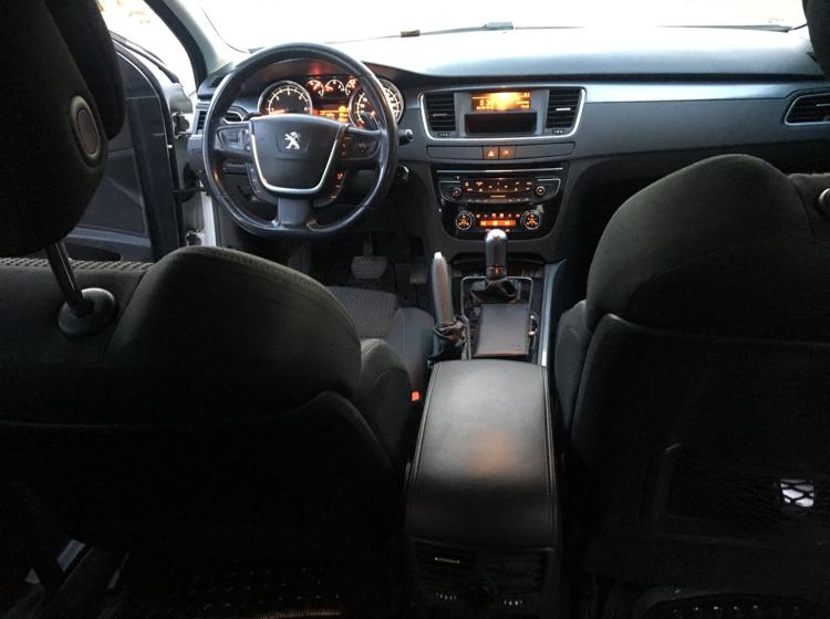 PEUGEOT 508 2012 Model Dizel Otomatik Vites Kiralik Araç - 60FF