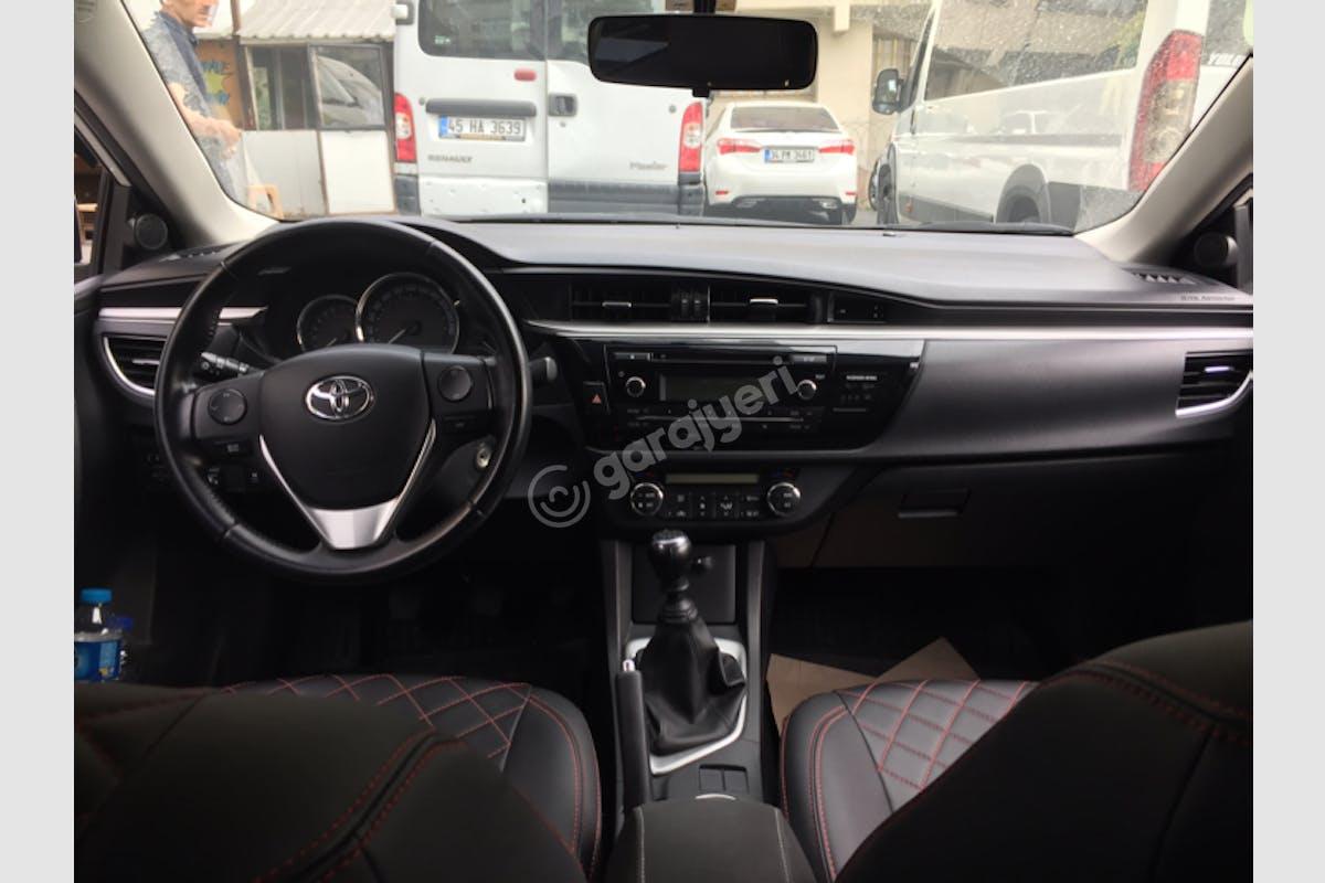 Toyota Corolla Bayrampaşa Kiralık Araç 6. Fotoğraf
