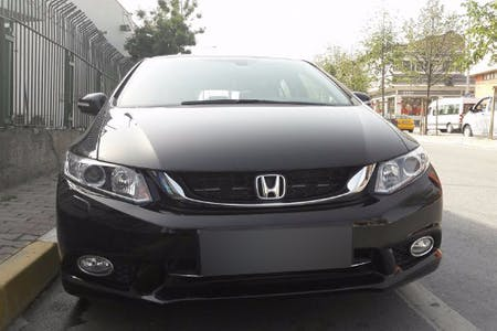 Honda Civic İstanbul Gaziosmanpaşa Kiralık Araç