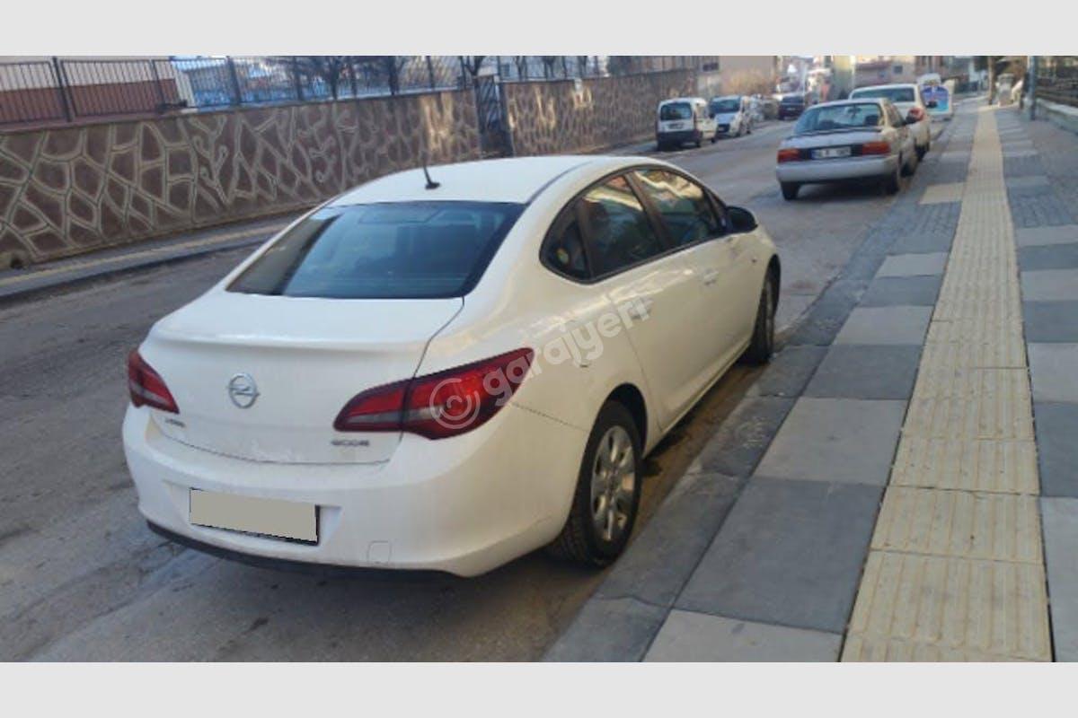 Opel Astra Sedan Mamak Kiralık Araç 1. Fotoğraf