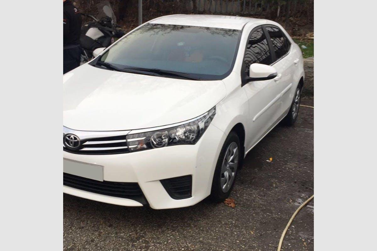 Toyota Corolla Altındağ Kiralık Araç 1. Fotoğraf
