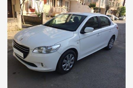 Kiralık Peugeot 301 2015 , İstanbul Beşiktaş