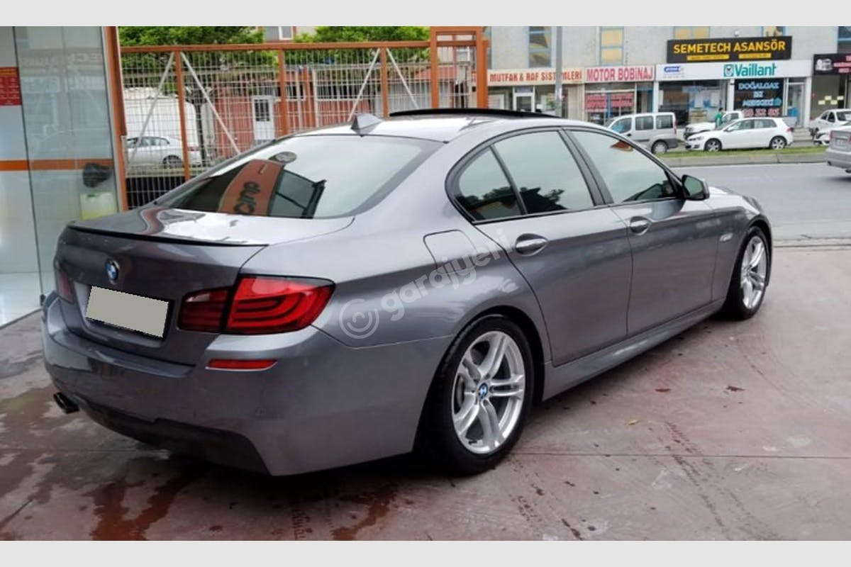 BMW 5 Kağıthane Kiralık Araç 2. Fotoğraf