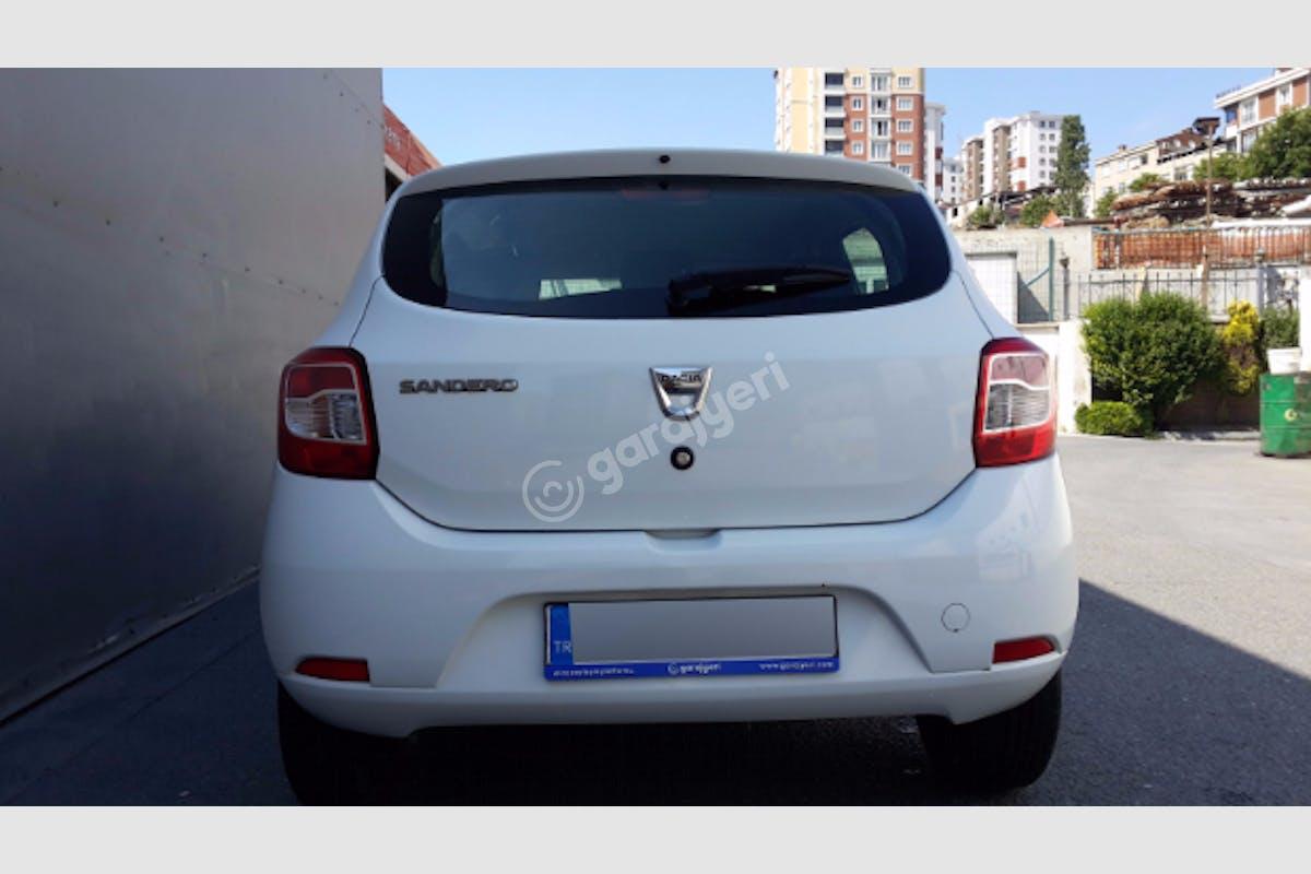 Dacia Sandero Bağcılar Kiralık Araç 5. Fotoğraf
