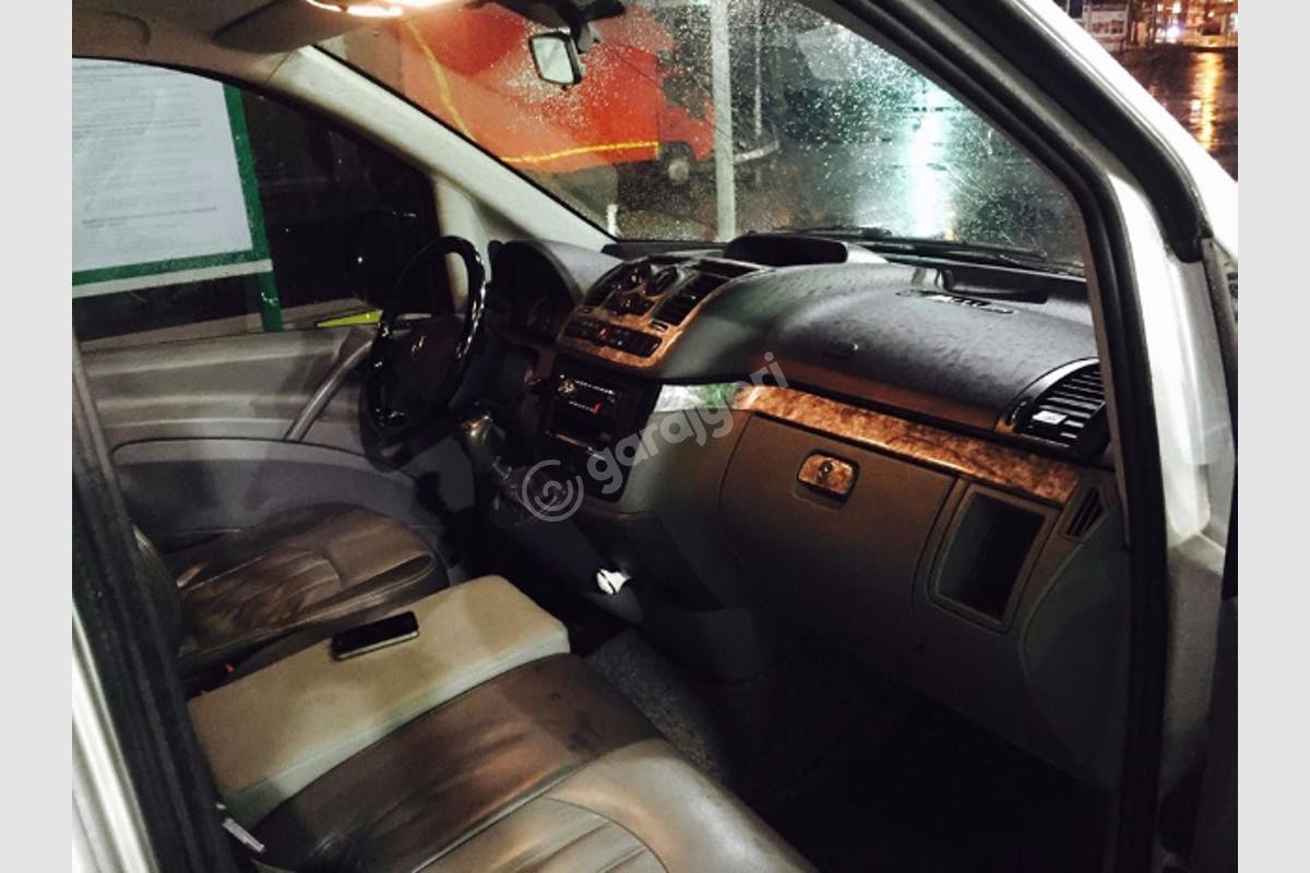 Mercedes - Benz Vito Sarıyer Kiralık Araç 3. Fotoğraf