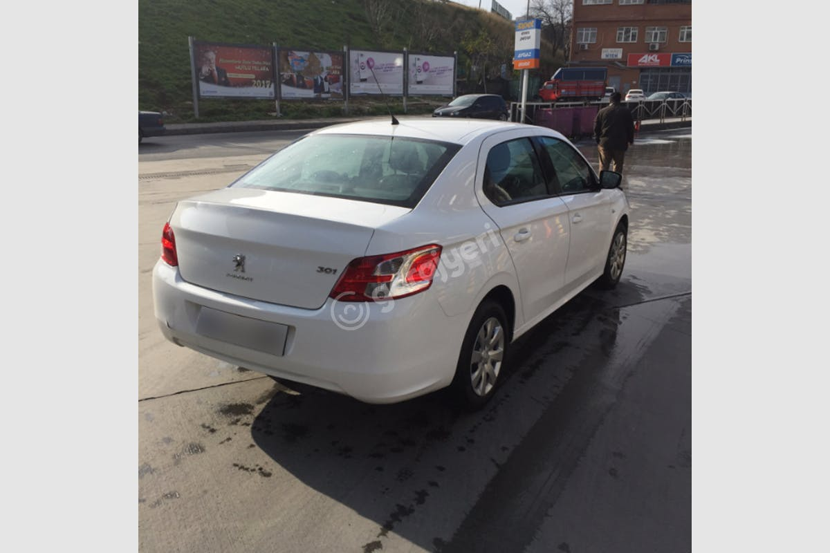 Peugeot 301 Bayrampaşa Kiralık Araç 3. Fotoğraf