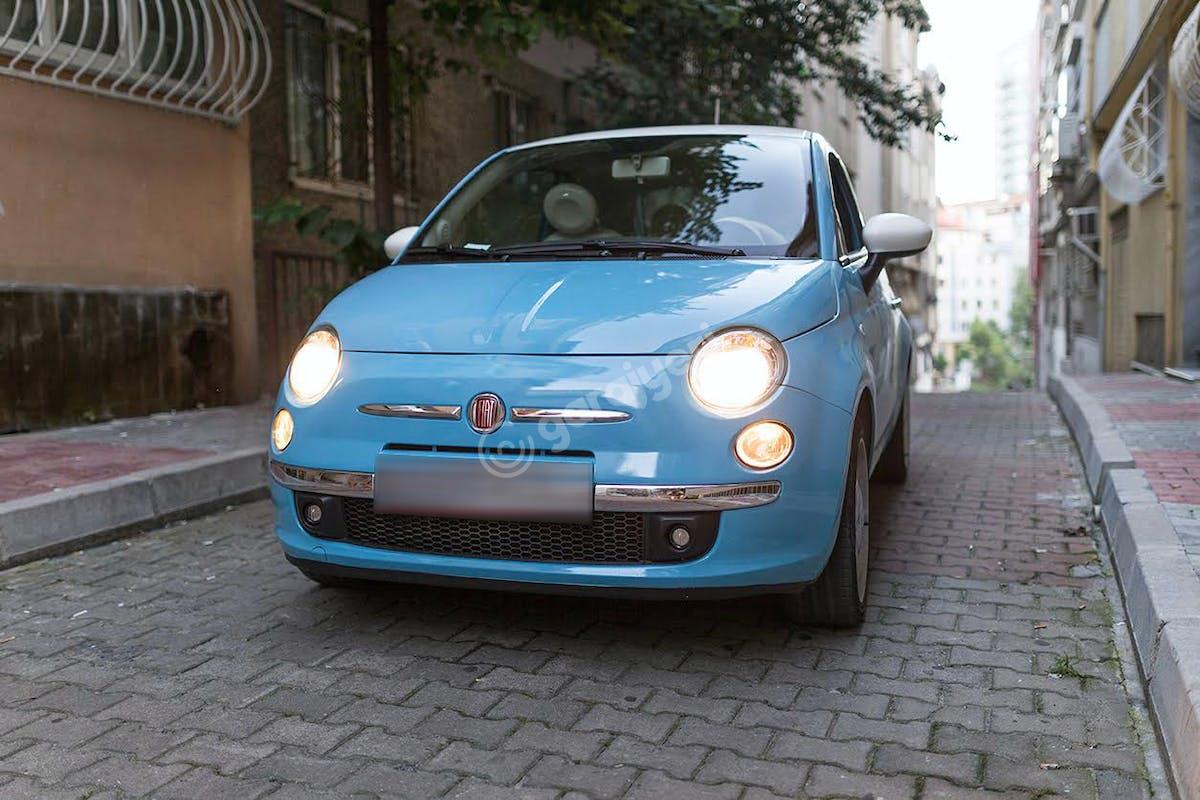Fiat 500 Şişli Kiralık Araç 4. Fotoğraf
