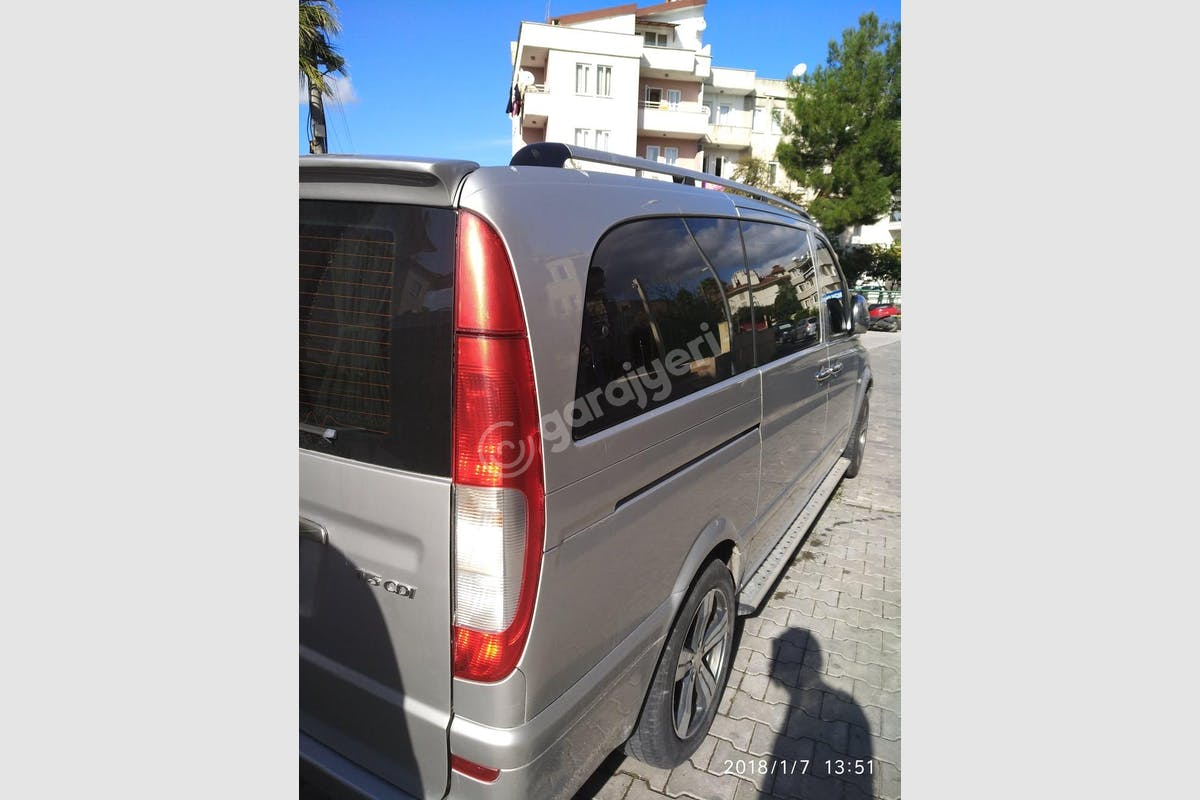 Mercedes - Benz Vito Marmaris Kiralık Araç 3. Fotoğraf