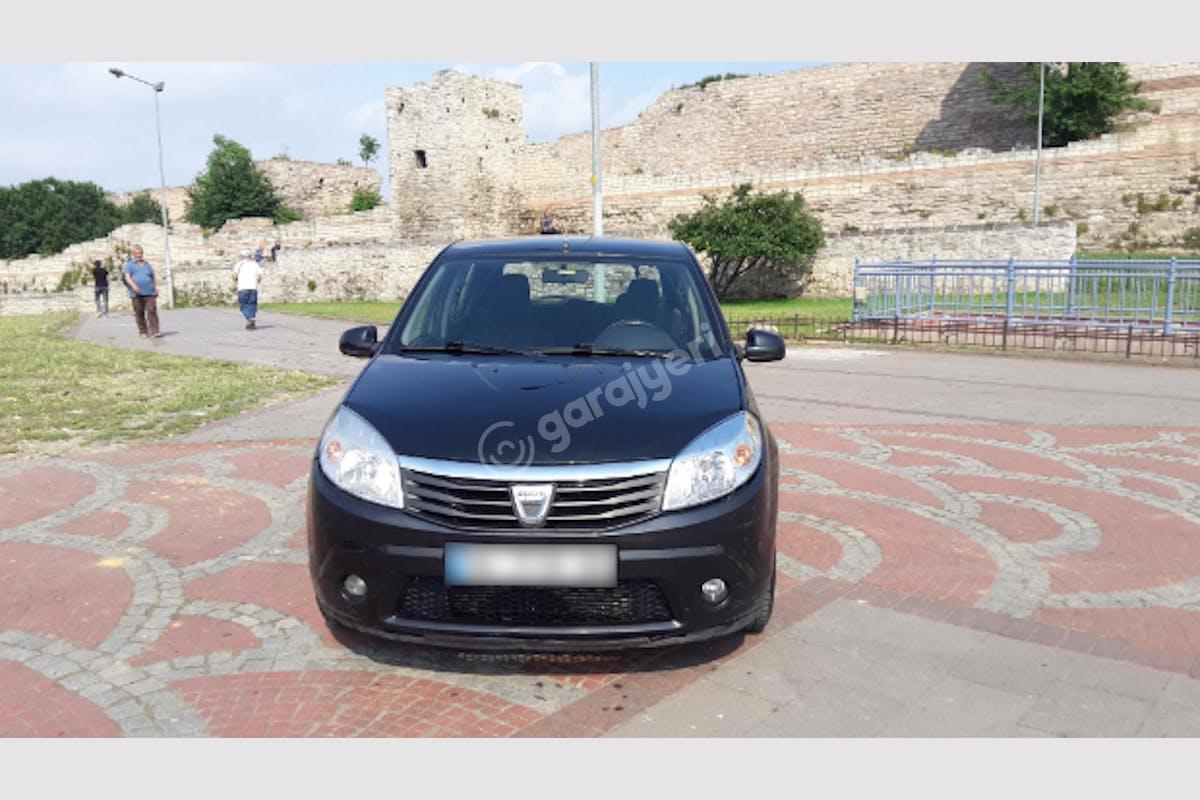Dacia Sandero Fatih Kiralık Araç 1. Fotoğraf