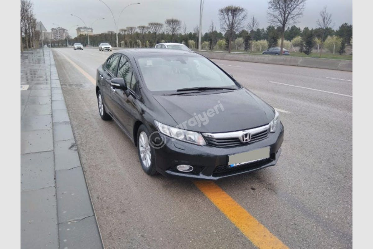 Honda Civic Merkez Kiralık Araç 1. Fotoğraf