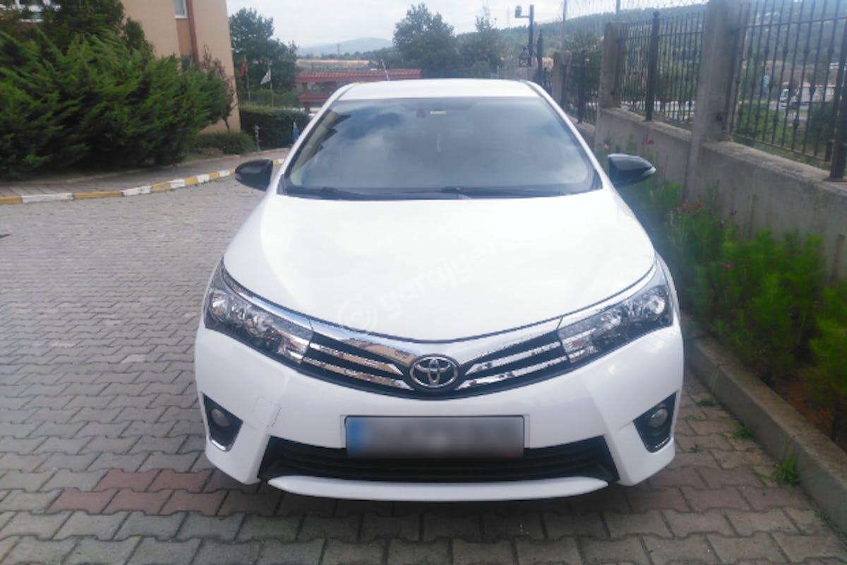 Toyota Corolla Pendik Kiralık Araç 2. Fotoğraf