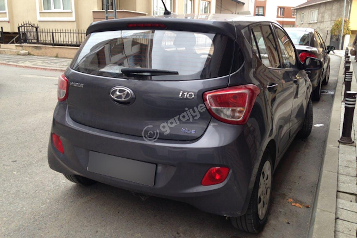 Hyundai i10 Üsküdar Kiralık Araç 2. Fotoğraf