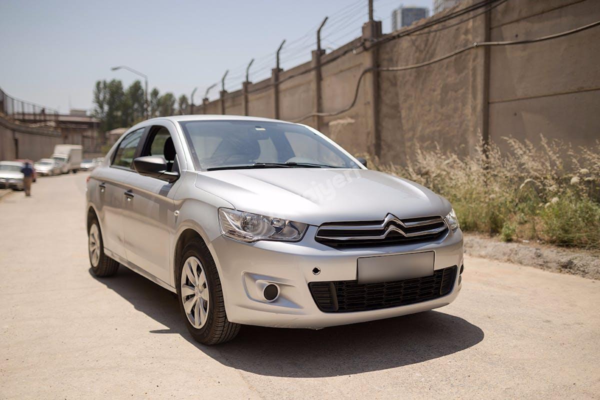 Citroën C-Elysee Ataşehir Kiralık Araç 1. Fotoğraf