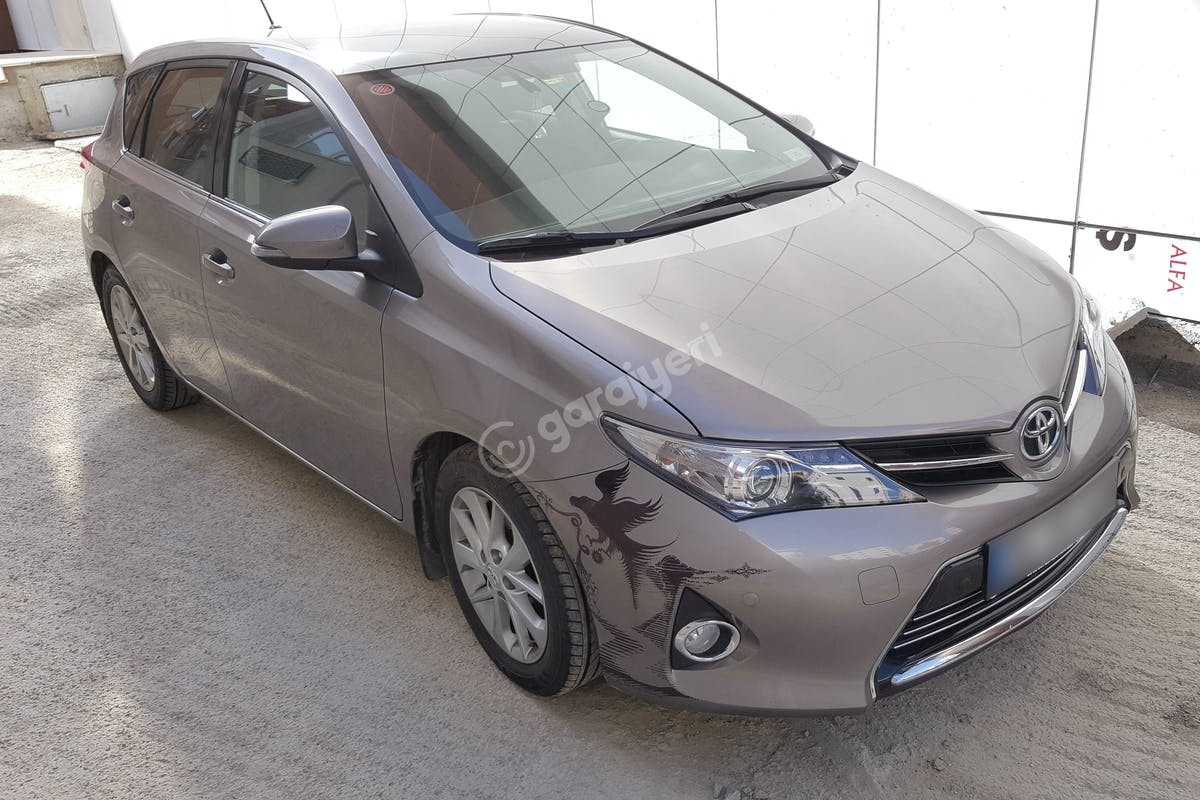 Toyota Auris Sultanbeyli Kiralık Araç 2. Fotoğraf