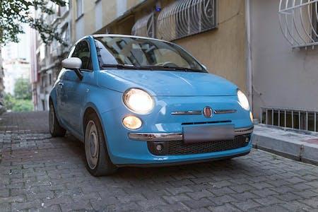 Kiralık Fiat 500 , İstanbul Şişli