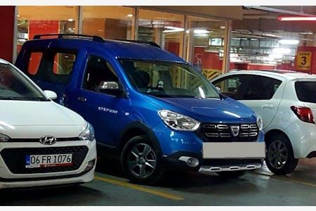 Kiralık Dacia Dokker 2017 , Ankara Altındağ