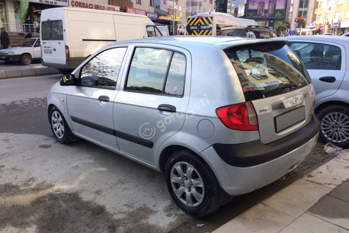 Hyundai Getz Kartal Kiralık Araç 4. Fotoğraf