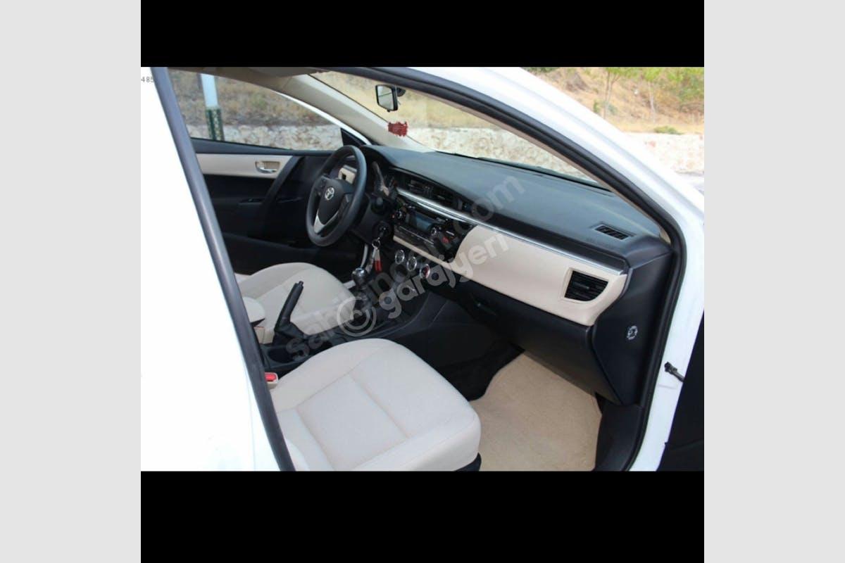 Toyota Corolla Sarıyer Kiralık Araç 3. Fotoğraf