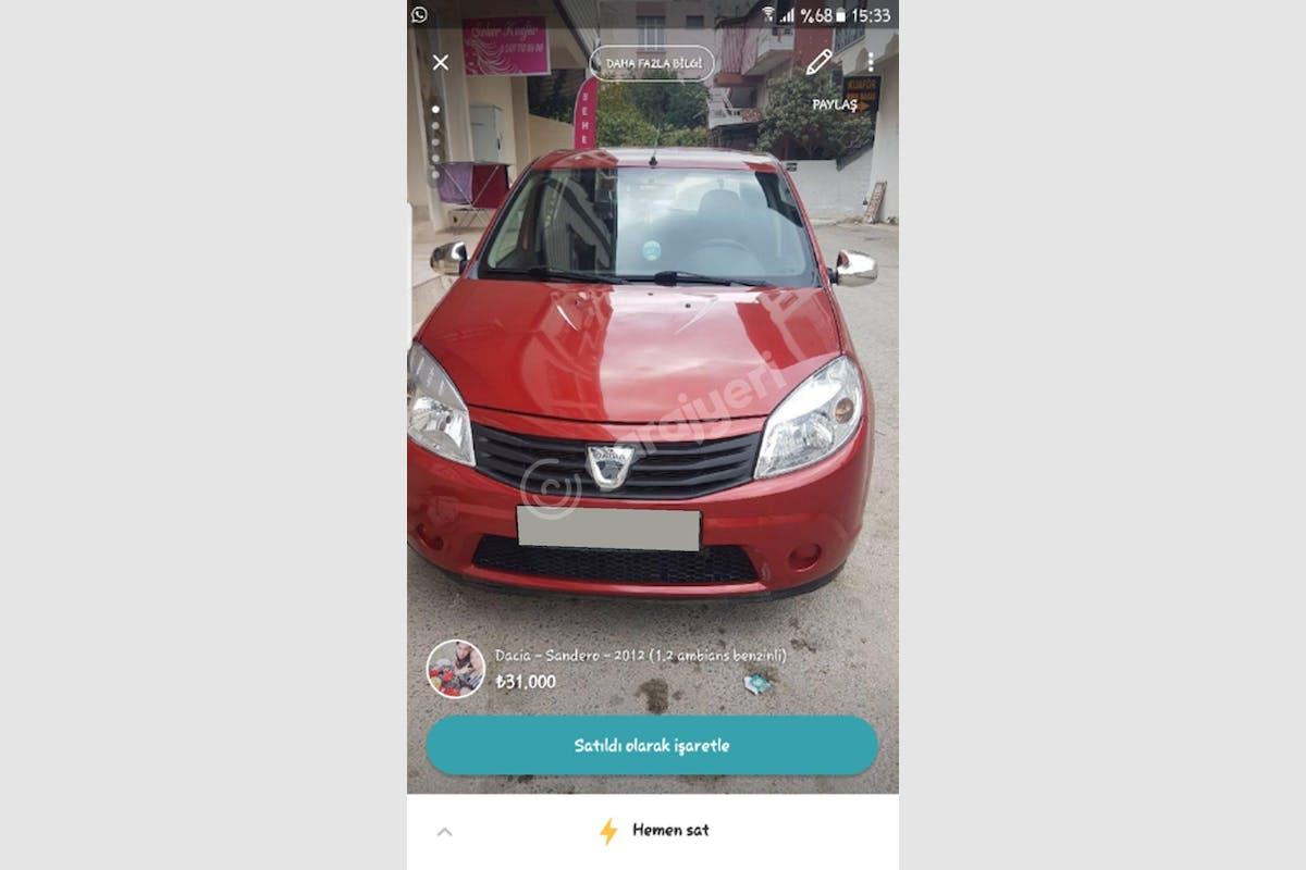 Dacia Sandero Torbalı Kiralık Araç 1. Fotoğraf
