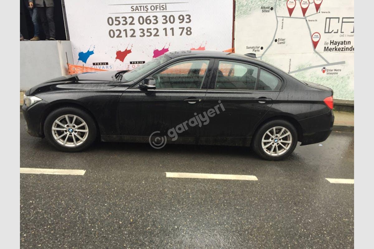 BMW 3 Beşiktaş Kiralık Araç 3. Fotoğraf