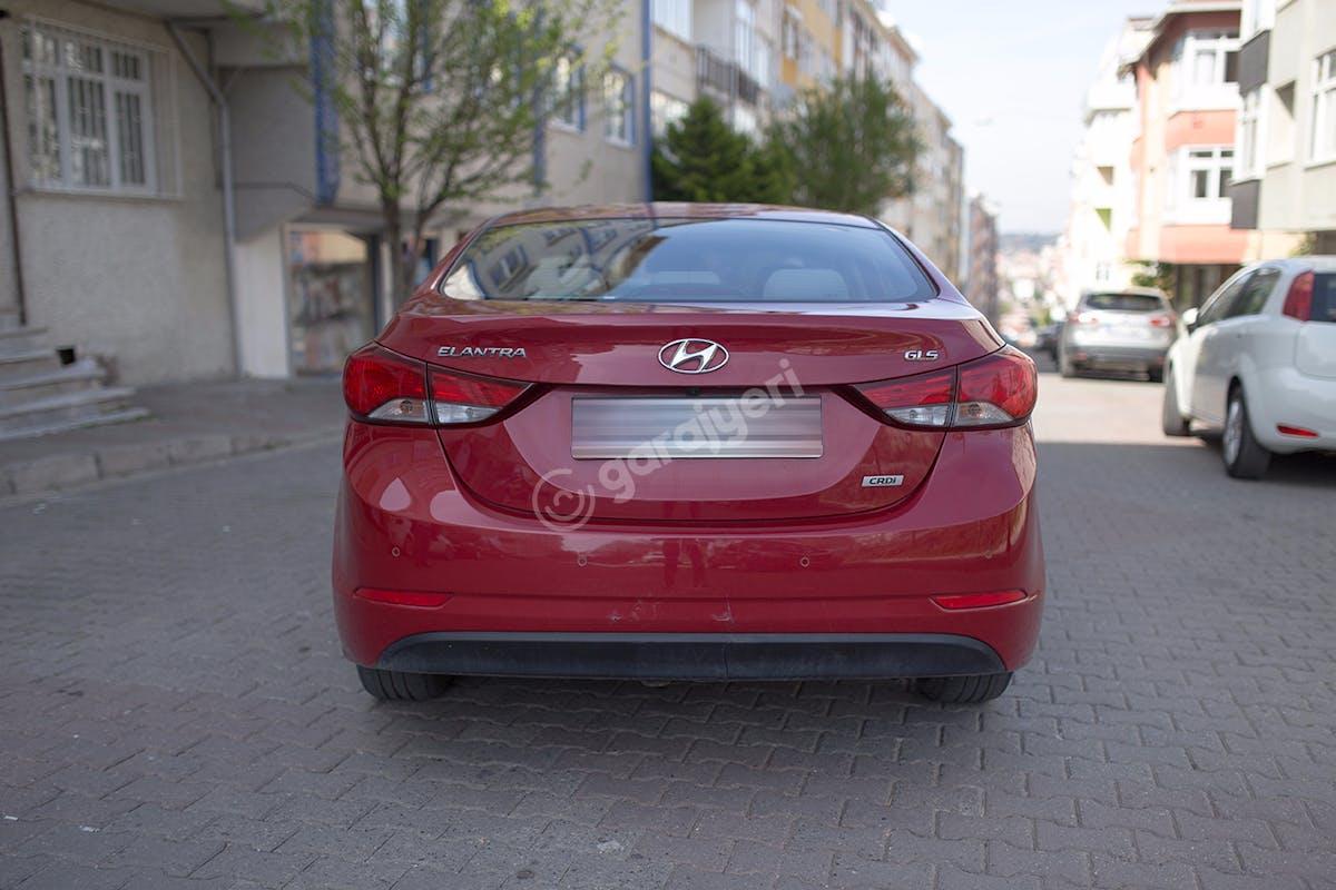 Hyundai Elantra Üsküdar Kiralık Araç 5. Fotoğraf