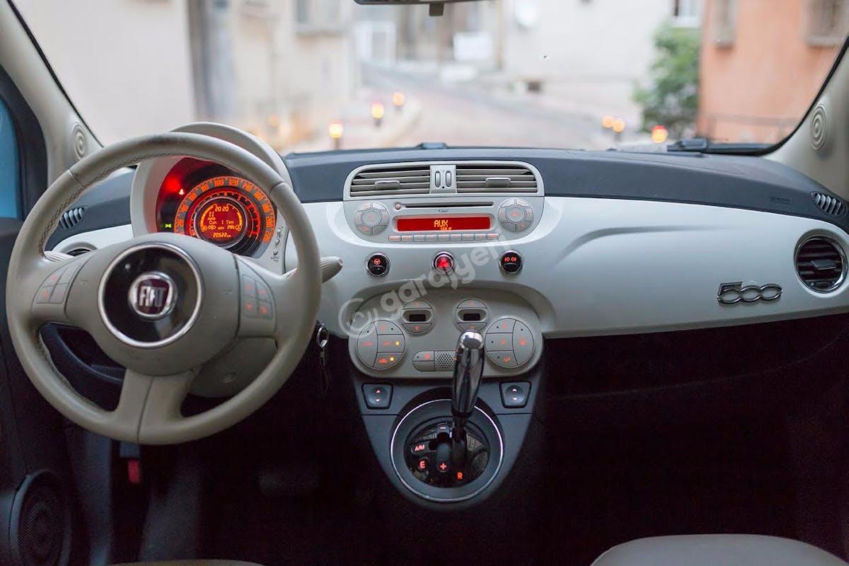 Fiat 500 Şişli Kiralık Araç 8. Fotoğraf