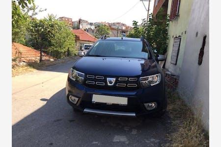 Kiralık Dacia Sandero Stepway 2017 , Kocaeli Gebze