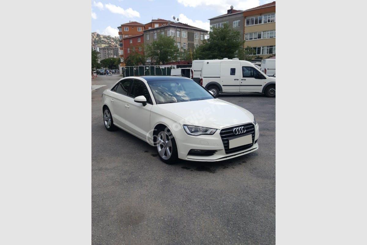 Audi A3 Sedan Kadıköy Kiralık Araç 3. Fotoğraf