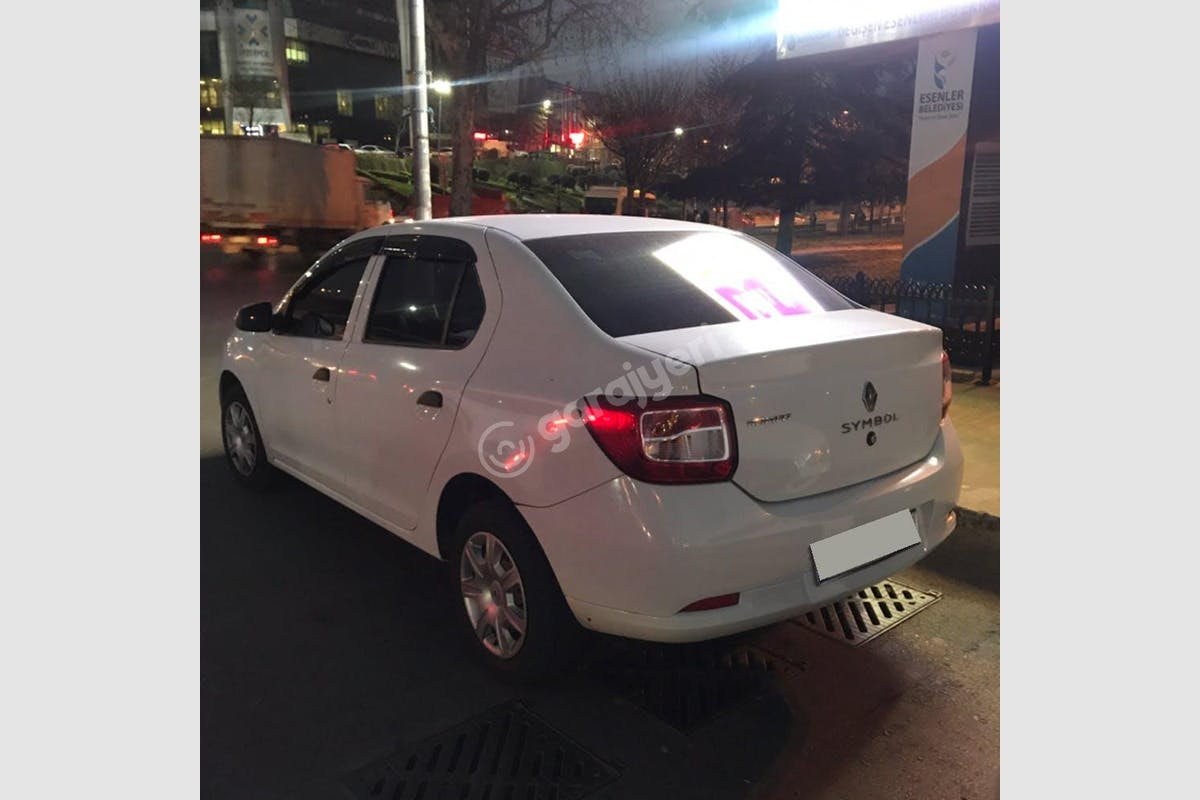 Renault Symbol Bakırköy Kiralık Araç 2. Fotoğraf
