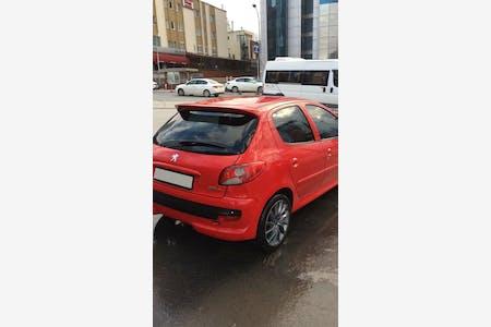 Kiralık Peugeot 206 Plus , İstanbul Kadıköy