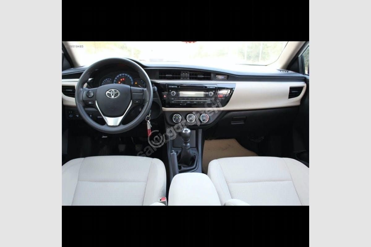 Toyota Corolla Sarıyer Kiralık Araç 6. Fotoğraf