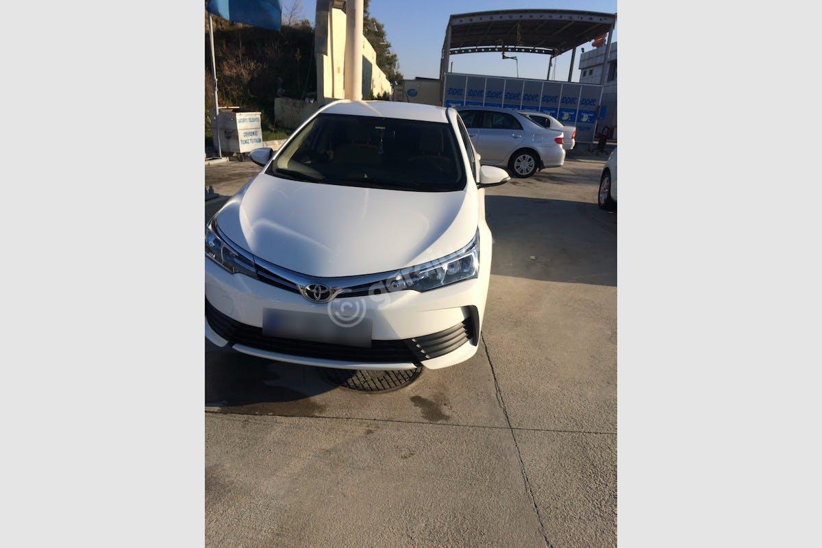 Toyota Corolla Antakya Kiralık Araç 1. Fotoğraf