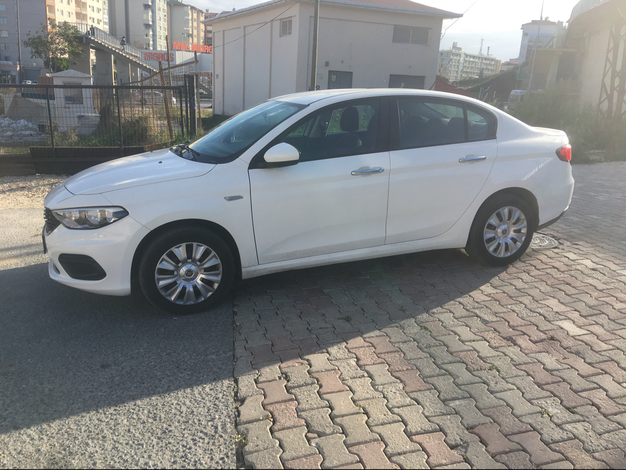 FIAT Egea 2017 Model Dizel Manuel Vites Kiralik Araç - A442