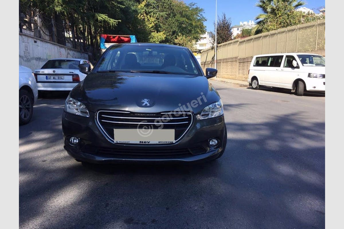 Peugeot 301 Fatih Kiralık Araç 1. Fotoğraf