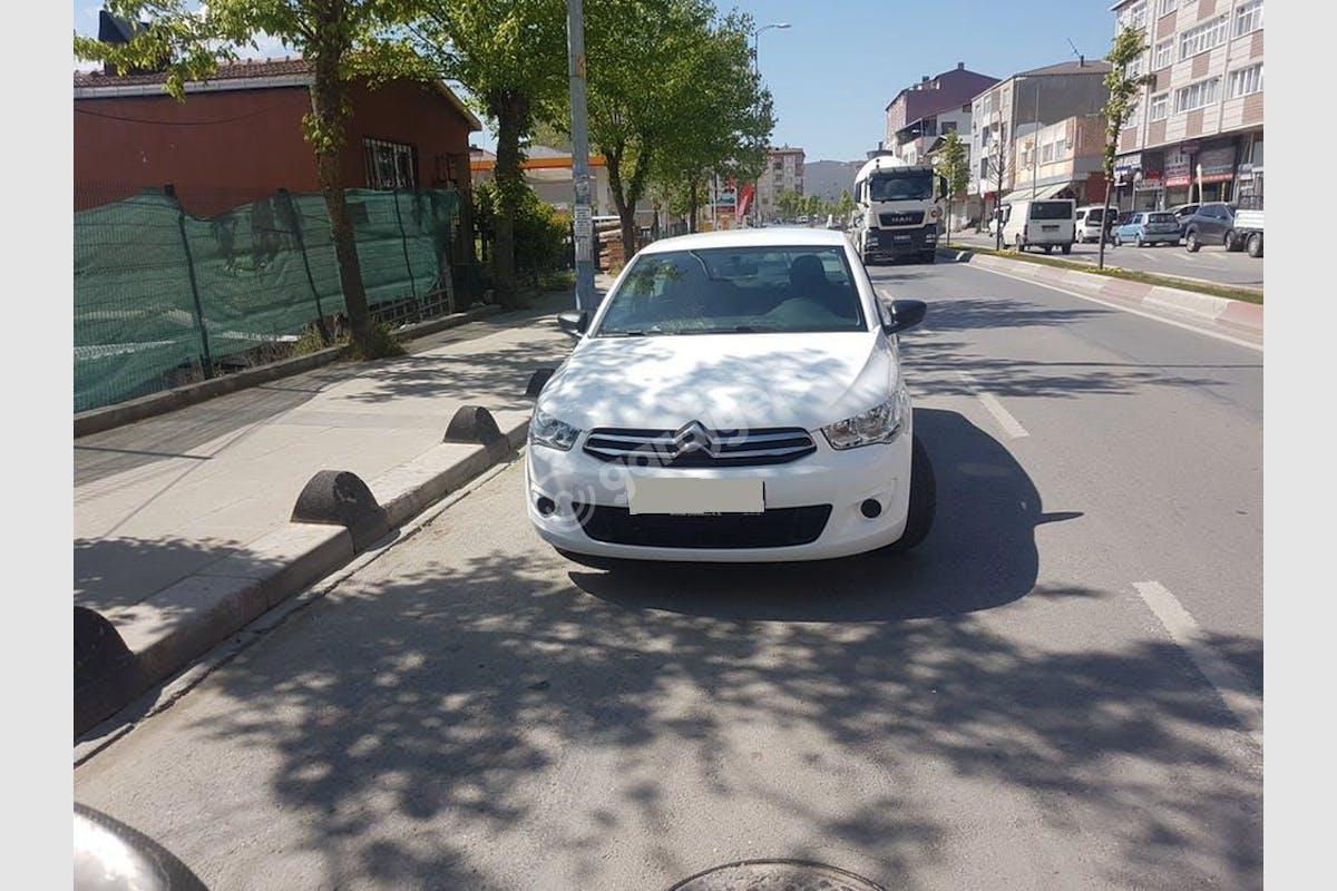 Citroën C-Elysee Sultanbeyli Kiralık Araç 2. Fotoğraf