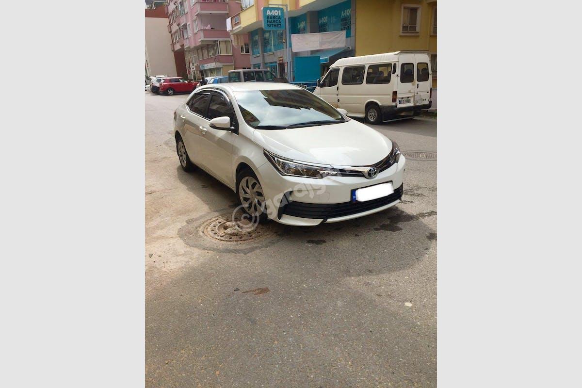 Toyota Corolla Ortahisar Kiralık Araç 1. Fotoğraf