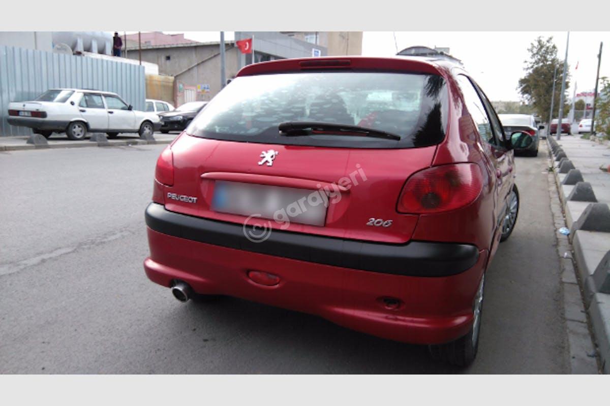 Peugeot 206 Küçükçekmece Kiralık Araç 6. Fotoğraf