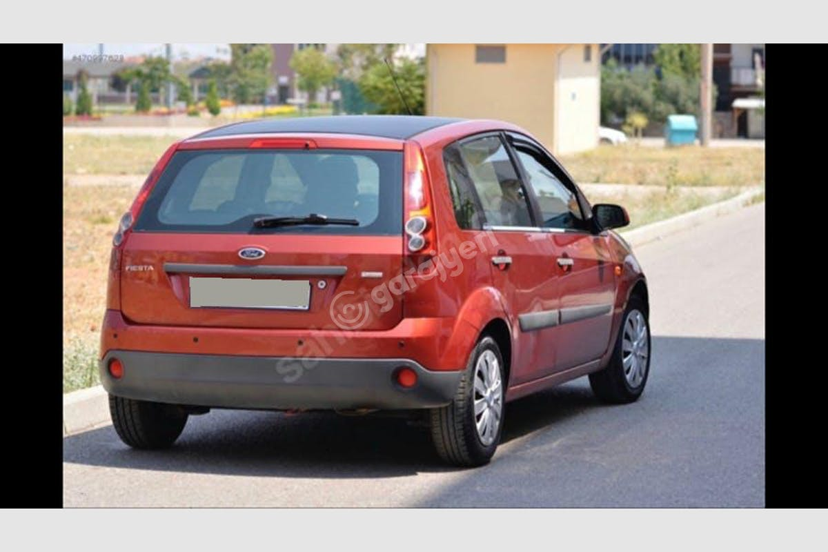 Ford Fiesta Pamukkale Kiralık Araç 3. Fotoğraf