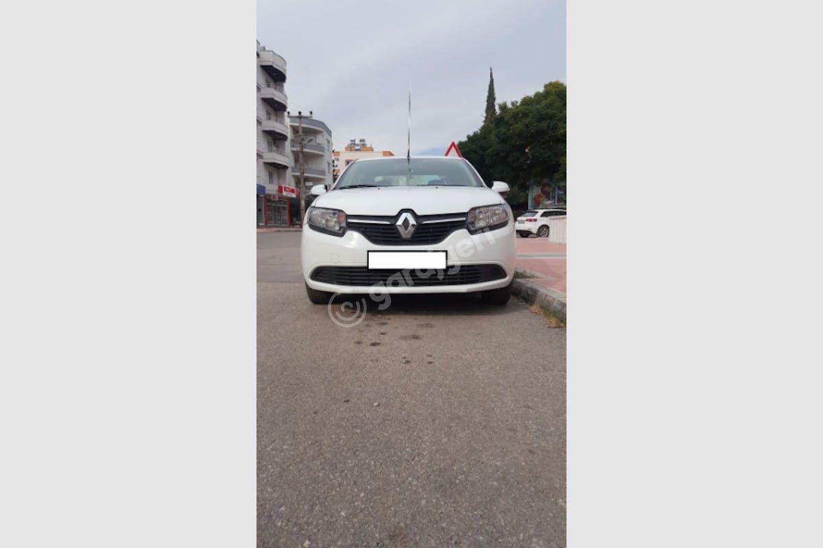 Renault Symbol Mezitli Kiralık Araç 5. Fotoğraf