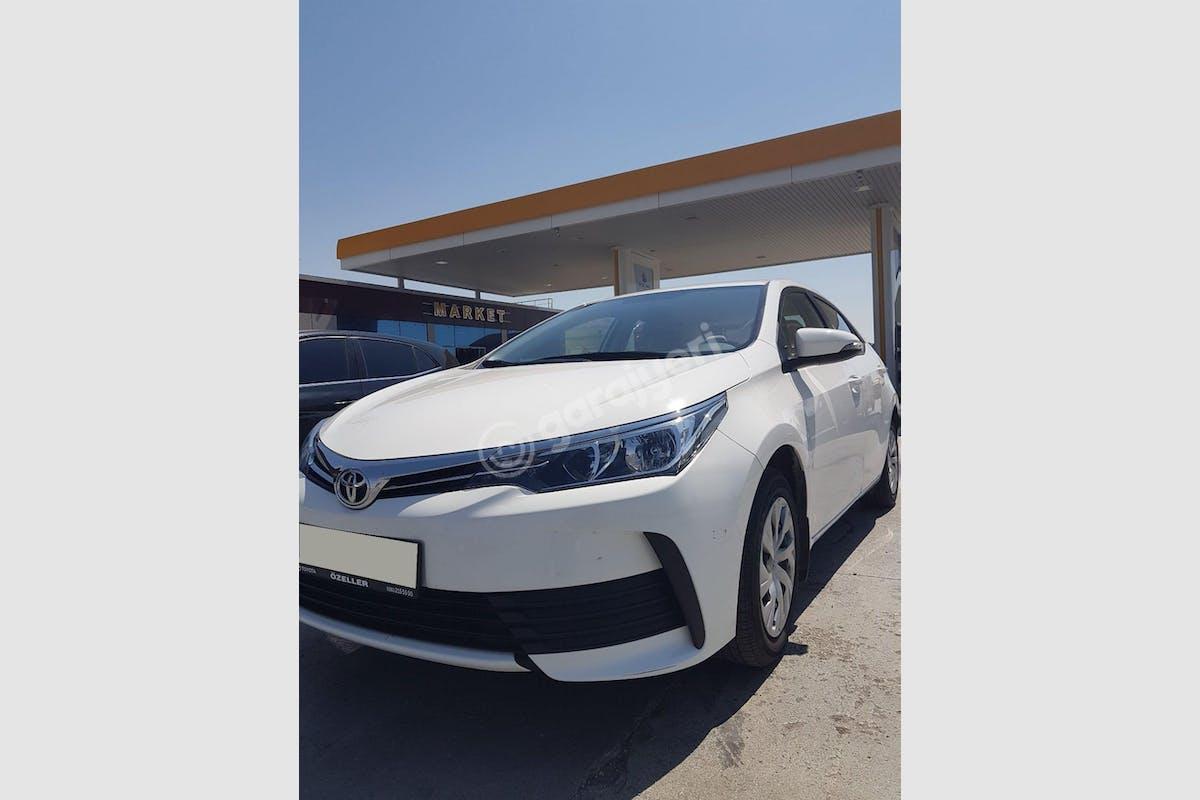 Toyota Corolla Yenimahalle Kiralık Araç 2. Fotoğraf