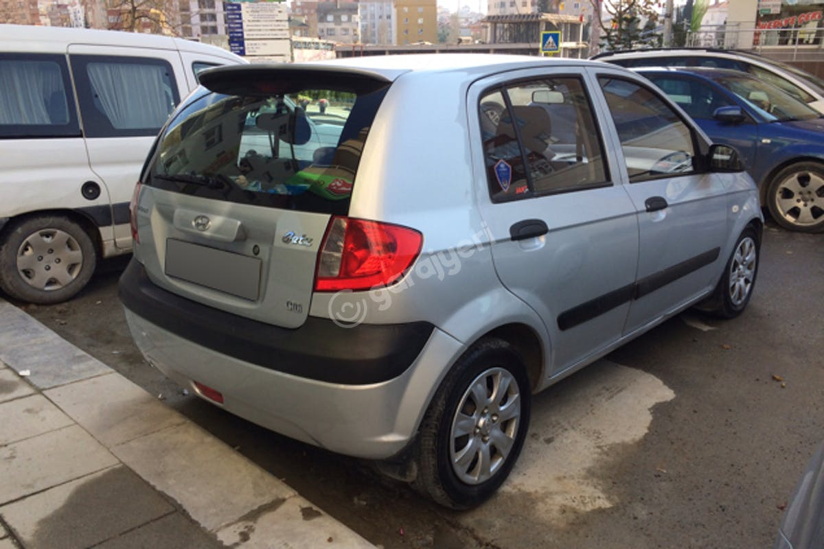 Hyundai Getz Kartal Kiralık Araç 5. Fotoğraf