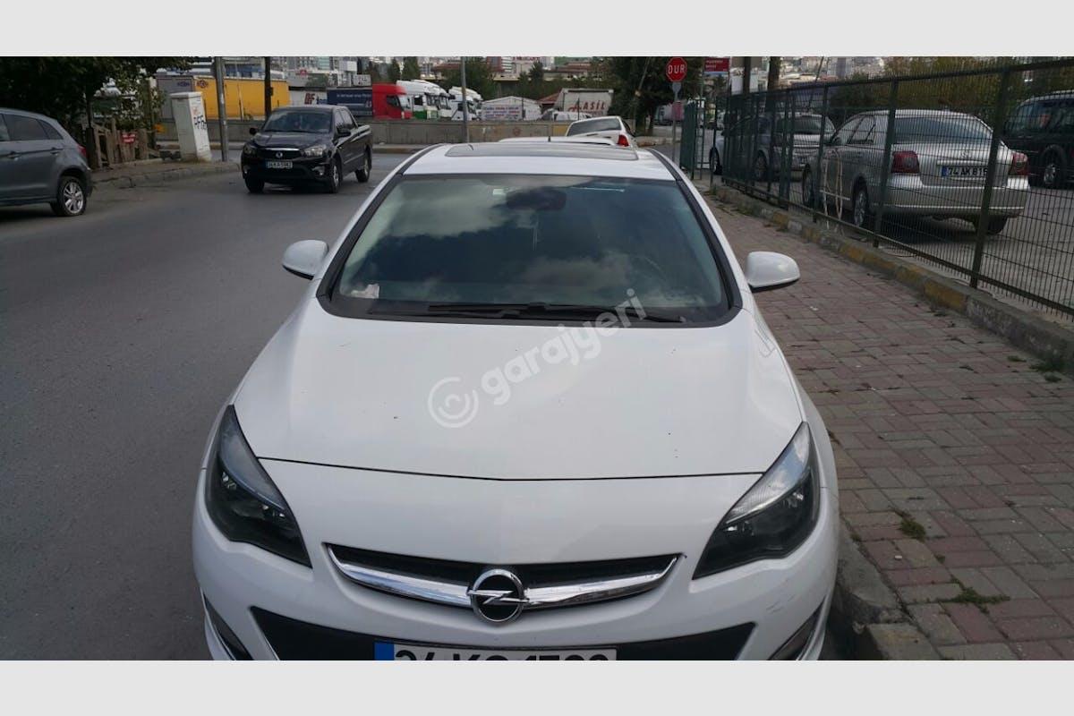 Opel Astra Beylikdüzü Kiralık Araç 4. Fotoğraf