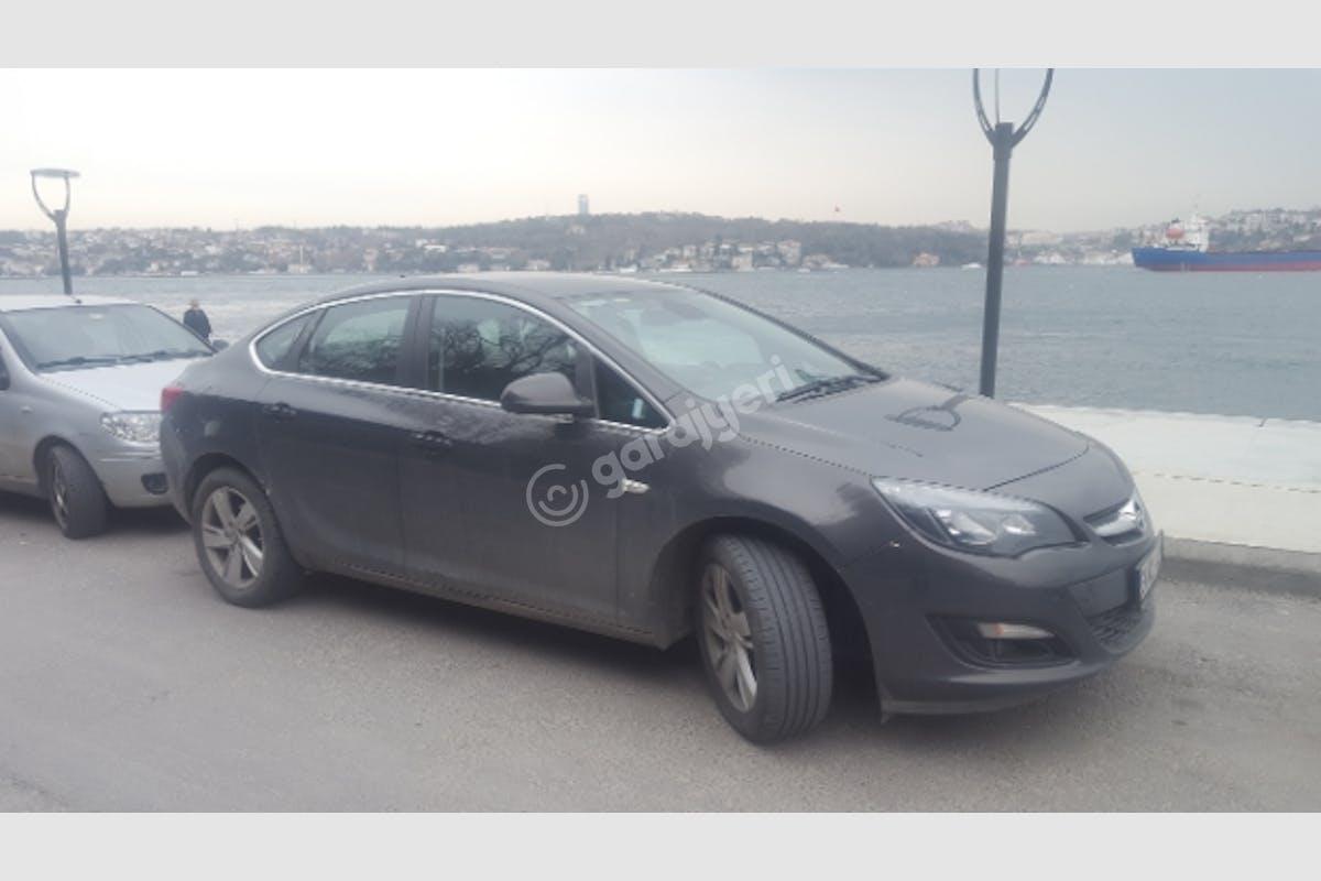 Opel Astra Sedan Beykoz Kiralık Araç 1. Fotoğraf